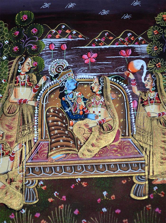 Natural Images Of Krishna